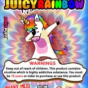 juicypuff   juicy rainbow   unicorn   fruity   tutti fruity   fruit