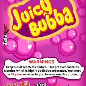 juicypuff | bubble gum | hubba bubba | juicey bubba | e-juice